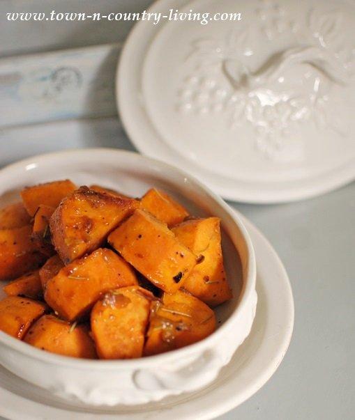 Orange Braised Sweet Potatoes