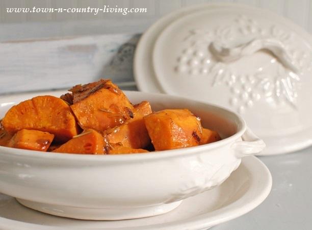 Sweet Potatoes Braised in Orange Juice