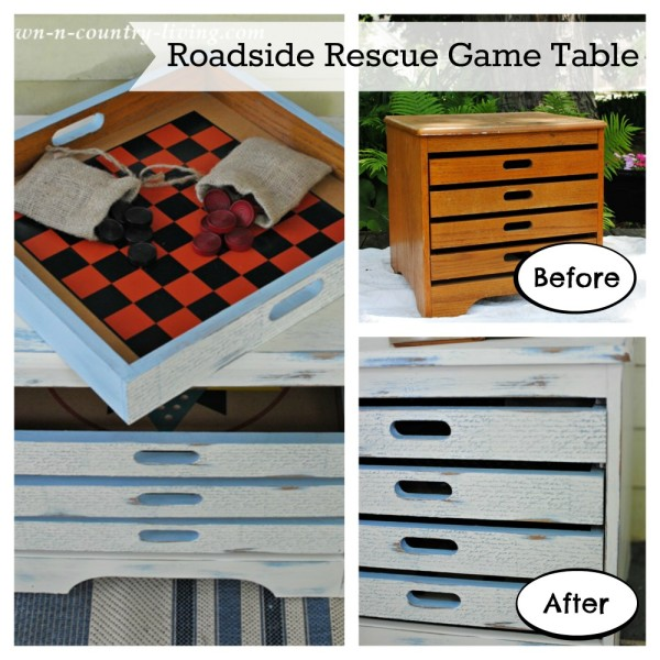 DIY Roadside Rescue Game Table