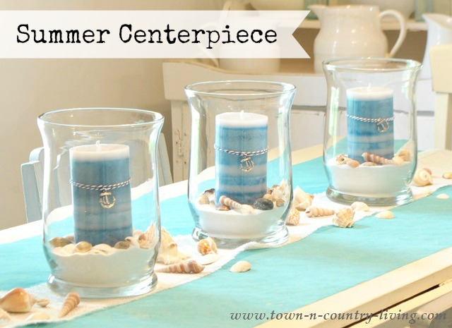 How to Create a Summer Coastal Centerpiece