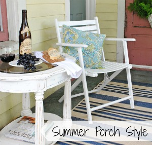 Summer Farmhouse Porch Style