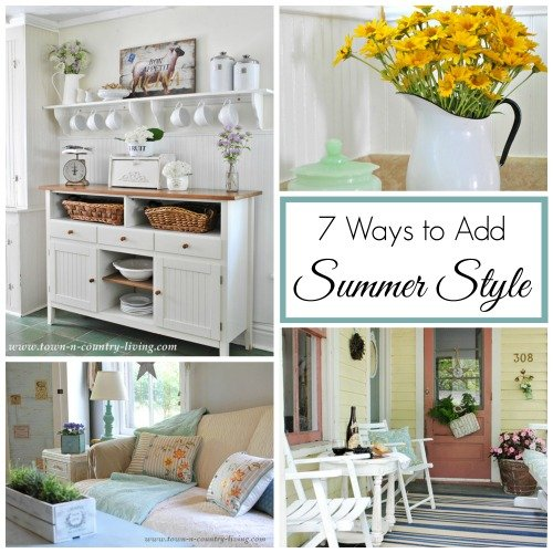 7 Ways to Add Summer Style by Town and Country Living