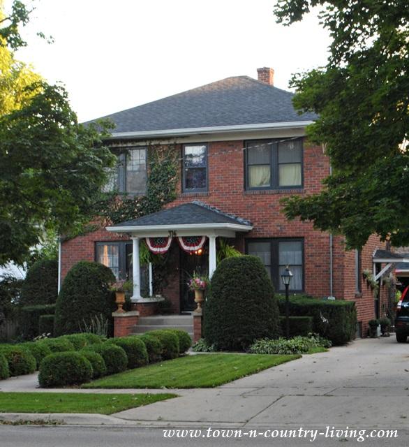 Brick House in Historic Geneva Illinois