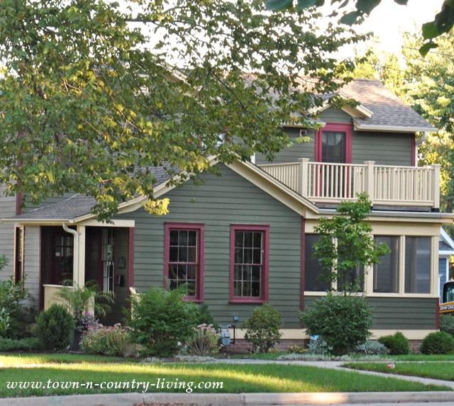 Historic Clapboard Home in Geneva Illinois