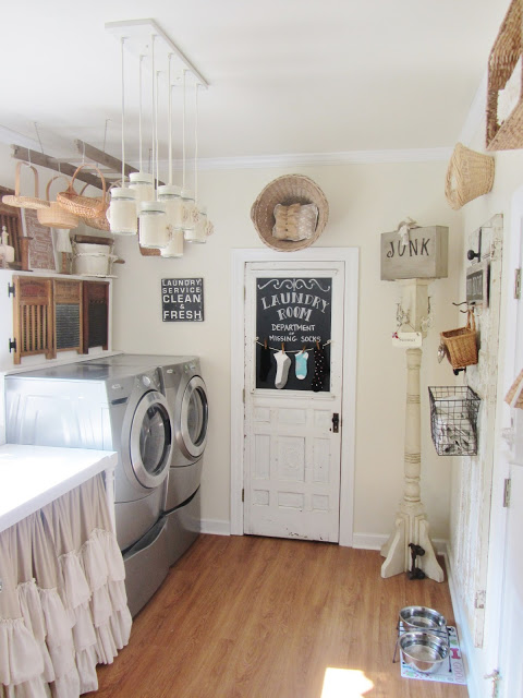 Charming Home Tour Junk Chic Cottage Town Amp Country Living