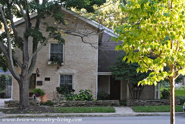 Old Stone Cottage in Historic Geneva Illinois