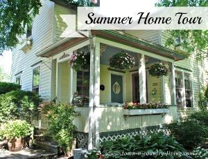 Farmhouse Summer Home Tour