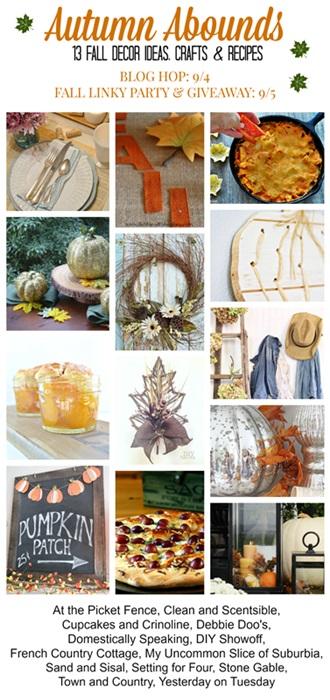 Autumn Abounds Fall Blog Hop