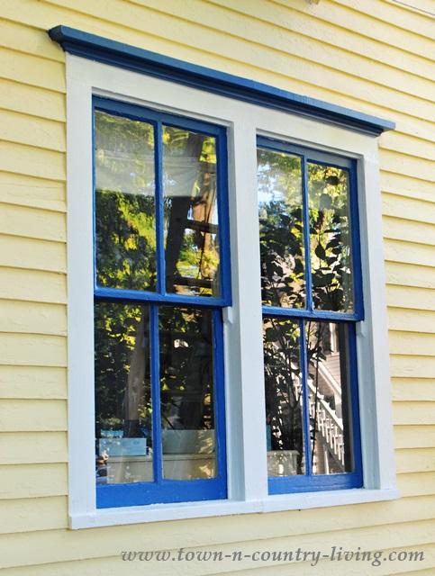 Double Farmhouse Windows