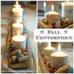 DIY Fall Centerpiece