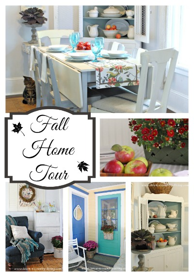 Fall Home Tour at Town and Country Living