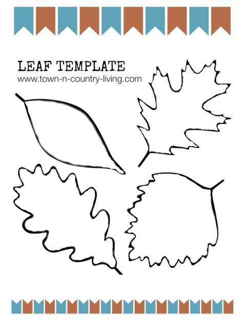 Terrible image throughout leaf template printable free