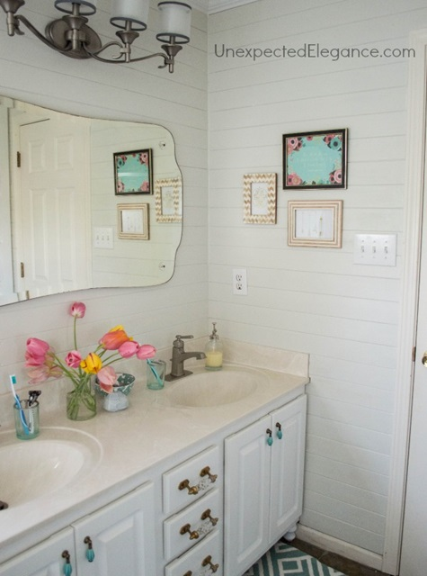 Cottage Style Master Bathroom