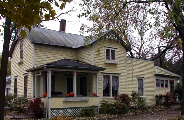 Painted Victorian Farmhouse