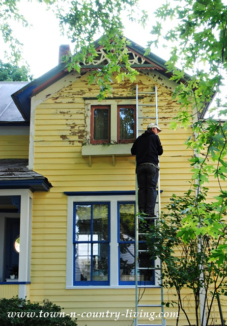 Painting Our Victorian Farmhouse Town Amp Country Living