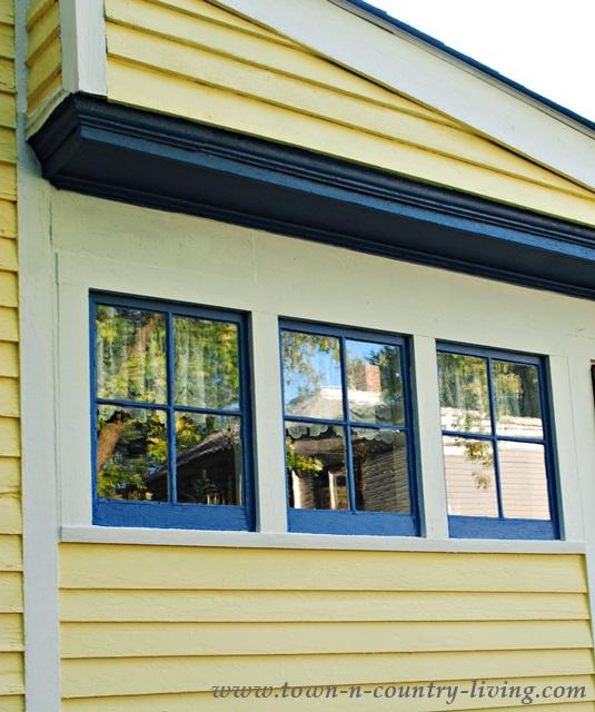 Trio of Farmhouse Windows