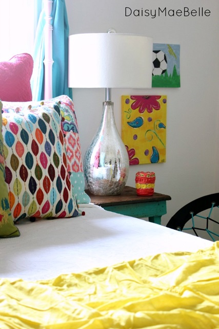 Fun and Colorful Charming Bedroom
