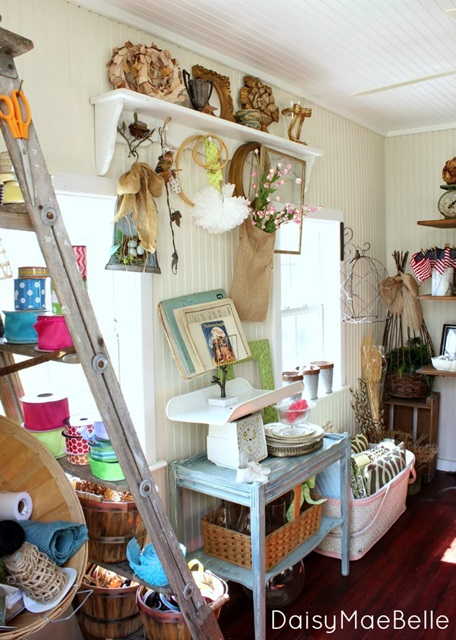Charming Craft Room at Daisy Mae Belle