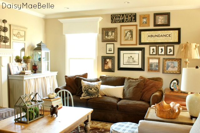 Eclectic Country Style Family Room