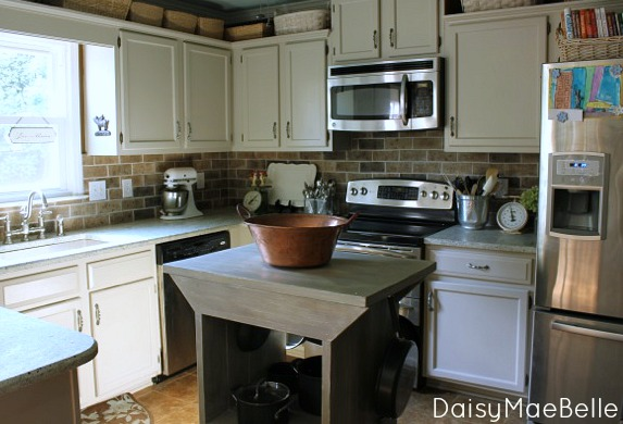 Country Style Eclectic Kitchen