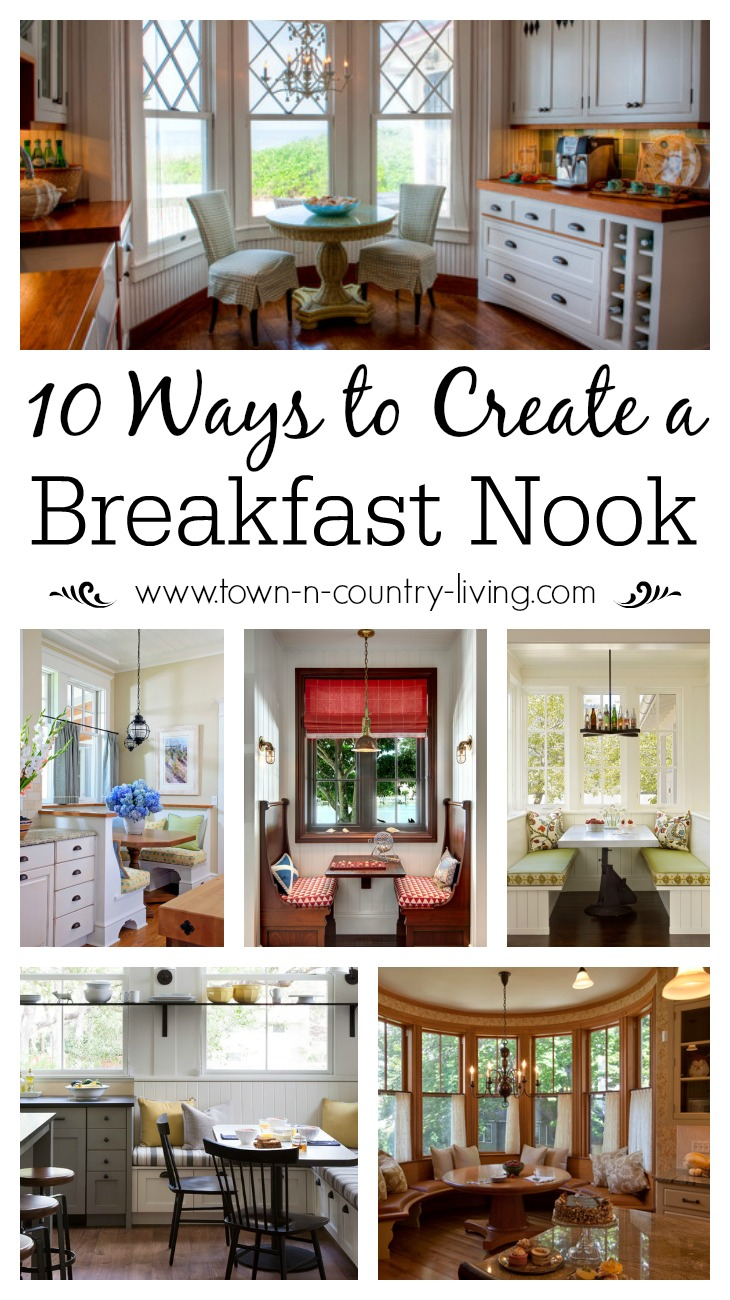 10 Ways To Create A Charming Breakfast Nook