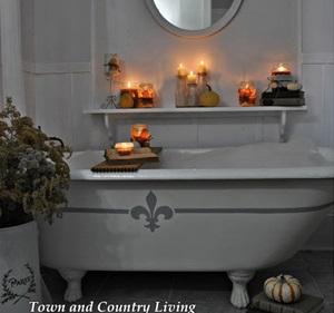 Candlelit Halloween Bath