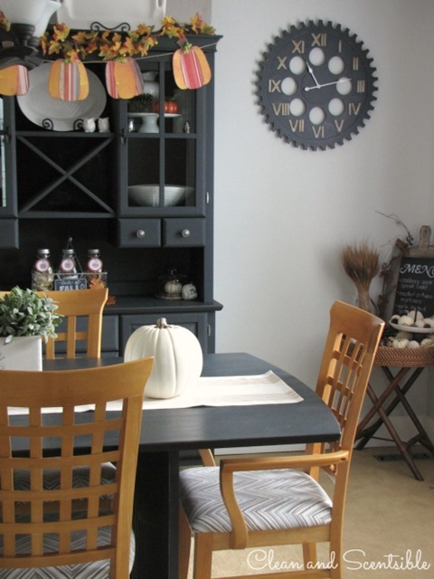 Fall Home Tour at Clean and Scentsible