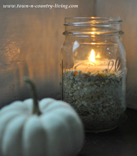 How to make 5 minute Fall candles