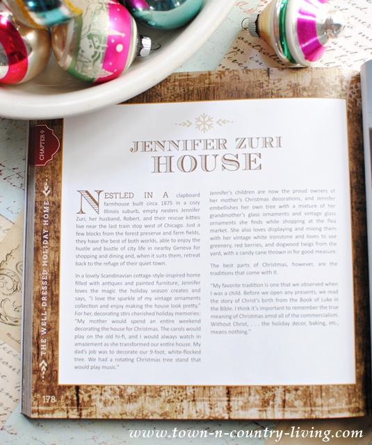 Jennifer Zuri House Appearing in Creatively Christmas Book