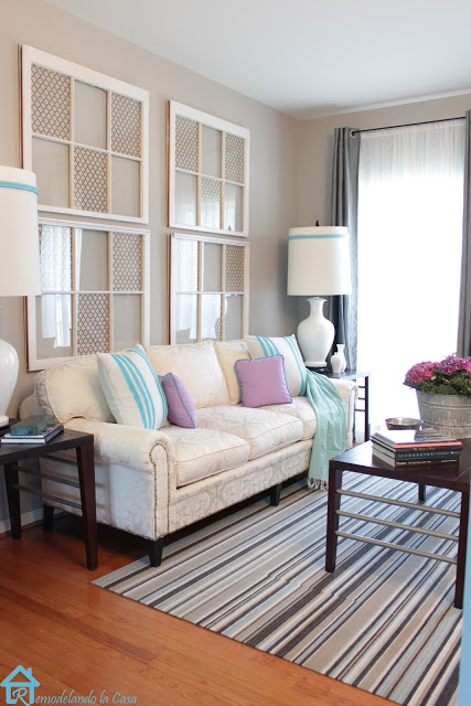 Traditional Living Room with Soft Colors