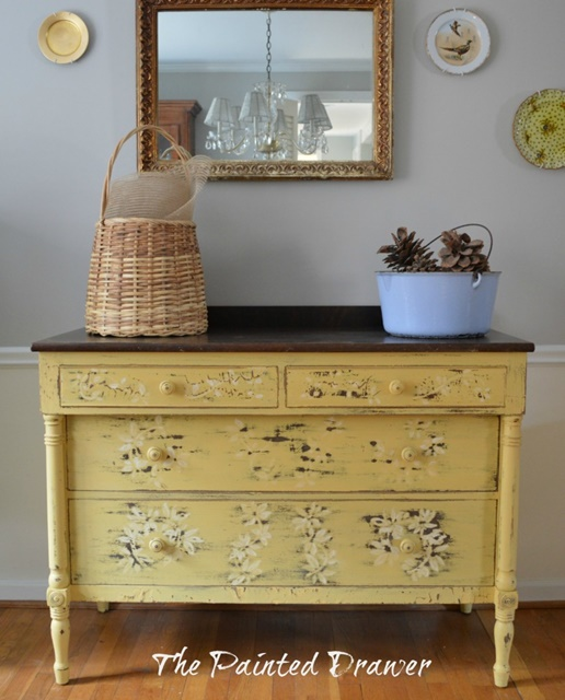 Vintage Painted Furniture at The Painted Drawer