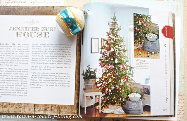 Pages from Creatively Christmas Book