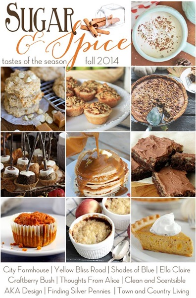 Tastes of the Season Fall Dessert Recipes
