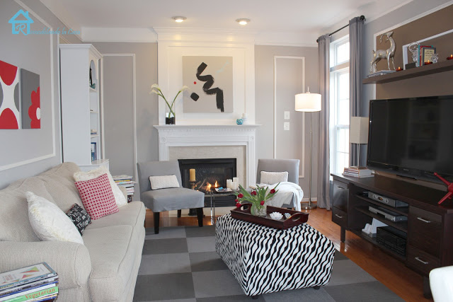 Traditional Style Family Room