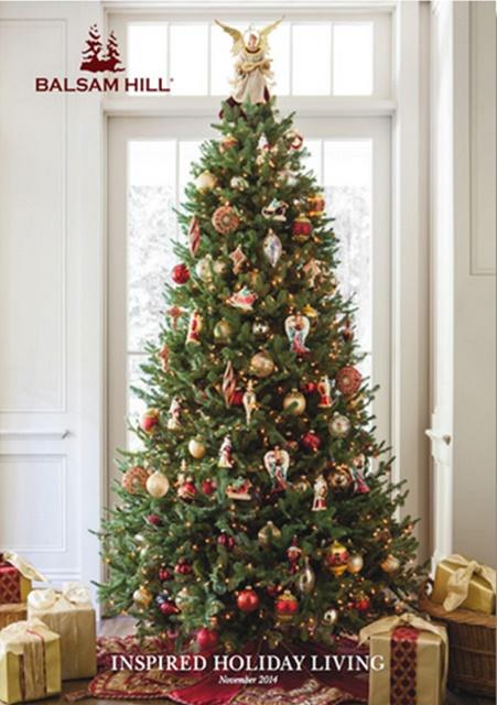Balsam Hill Christmas Catalog Cover #BalsamHill