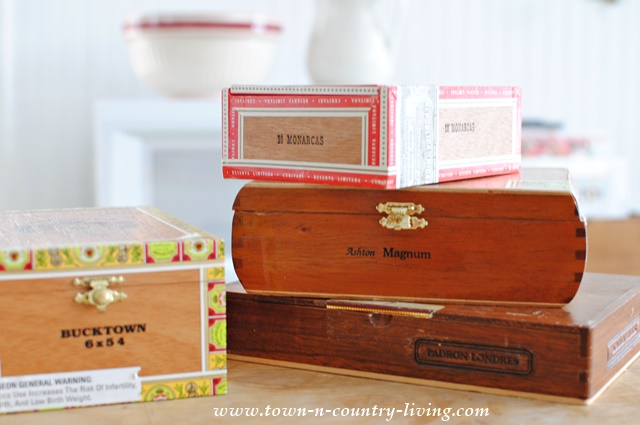 Cigar Boxes can be used for many different craft projects