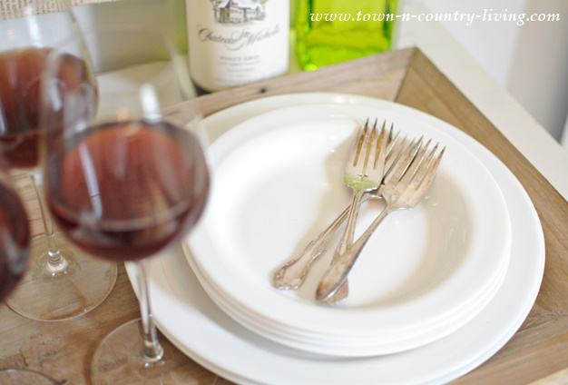 Cometa Dessert Plates by Bormioli Rocco