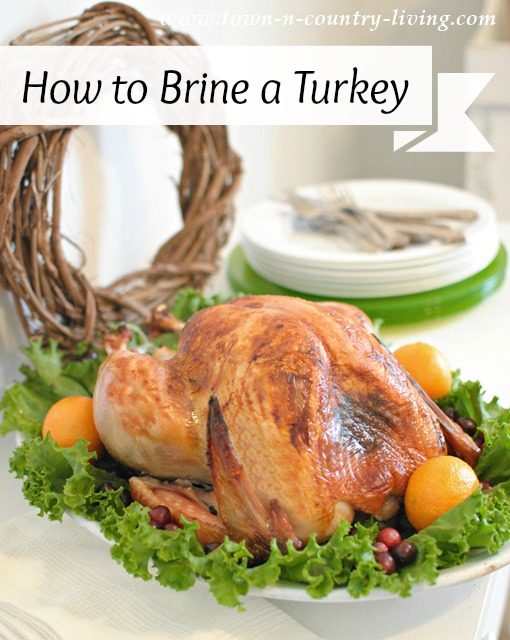 How to brine a turkey for super moist meat. You won't need any gravy!