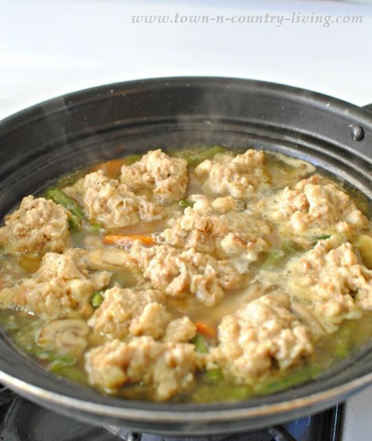 How to make stuffing dumplings