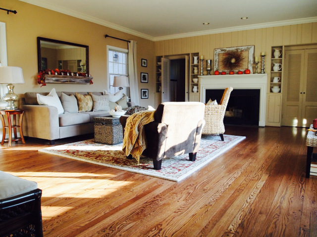 Home Decor. Country Style Living Room