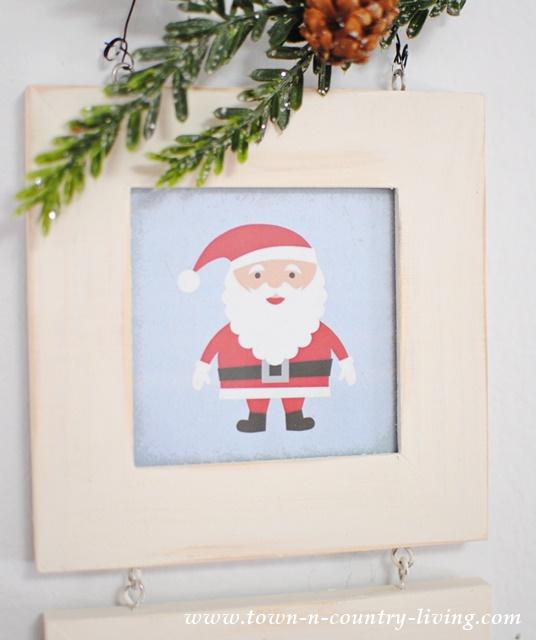 Free Santa Christmas Printable.