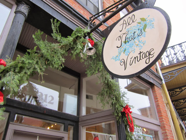 All That's Vintage shop in Galena, Illinois