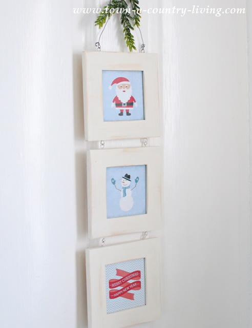 Free Christmas Printables can be turned into quick and easy Christmas decor or ornaments.