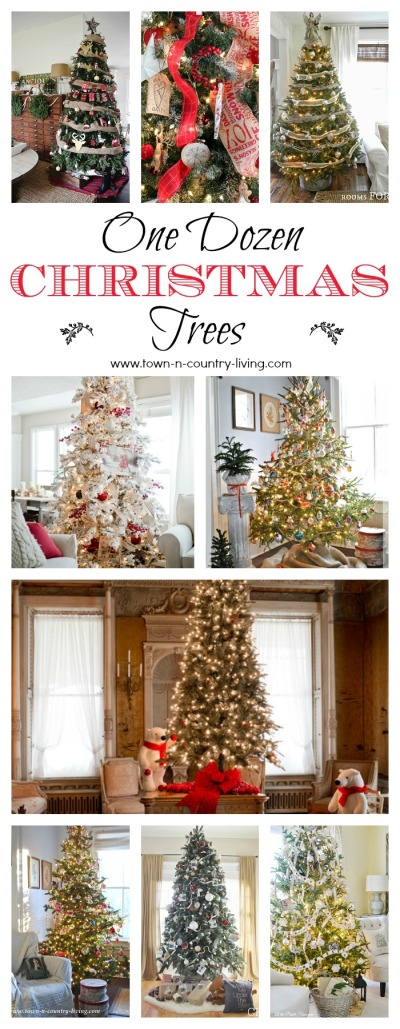 One Dozen Christmas Tree Examples