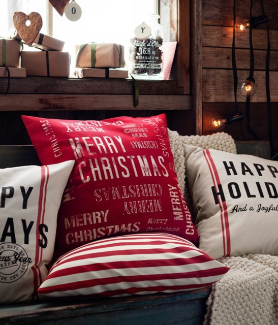 Christmas Pillows by HM