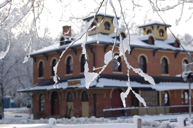 Historic building at Galena Illinois