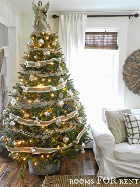 Woodland Glam Christmas Tree