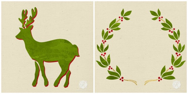 Christmas Stencils by Royal Design Studio