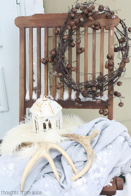 Rustic Jingle Bell Wreath