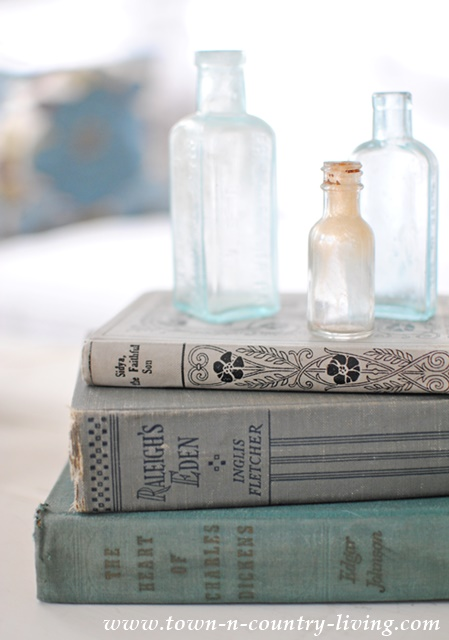 Vintage Books and Bottles